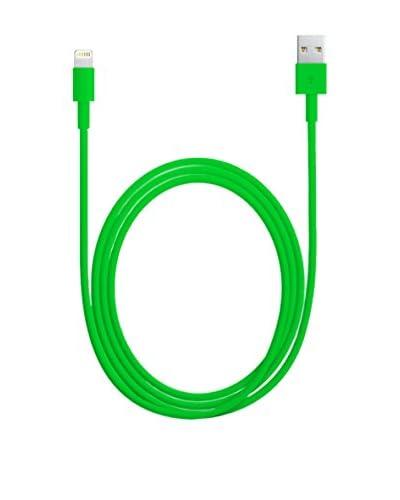VaVeliero Cavo New Dock Connector iPhone 5 Verde