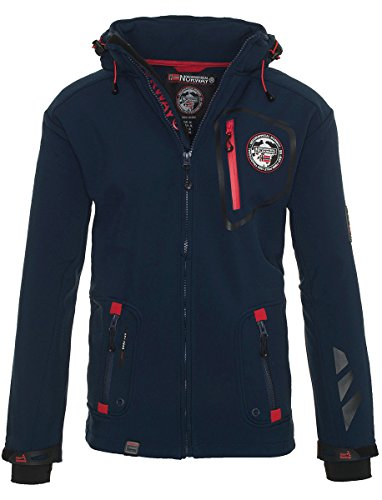 Geographical Norway Herren Softshell Jacke Funktionsjacke Outdoor Regen Sport