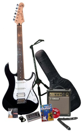 Yamaha Electric Guitar  &  Pro Pack - Pacifica 012 (Black)