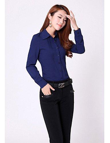 ZXR-Femme-massif-bleublanc-manches-longues-pour-hommefemme-pliss