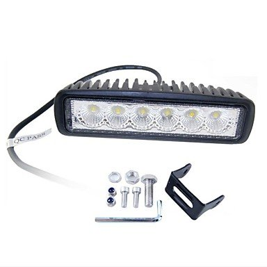 Commoon 18W Led Work Light Bar Flood Offroad Lamp Car Truck Boat Atv