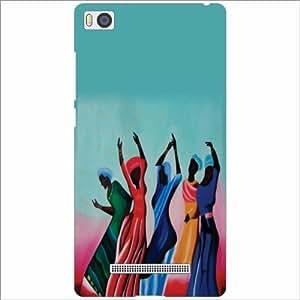 Xiaomi Mi4i MZB4300IN Back Cover - Silicon Folk Dance Designer Cases