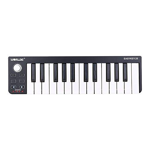 Worlde-Easykey-25-Teclas-Tetclado-Porttil-Mini-USB-25-Key-MIDI-Controlador