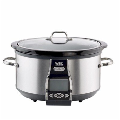 Digital Slow Cookers: Dr. Weil 9801 The Healthy Kitchen 7-Quart Slow Cooker