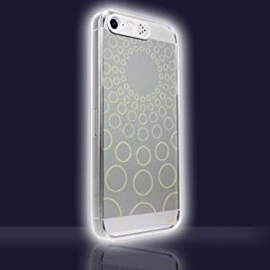 VanD Clear Flashing Case for iPhone 5S/5
