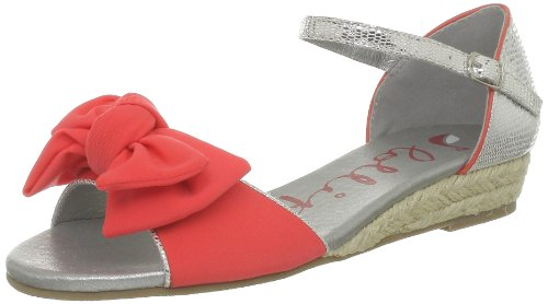 Lollipops Oxford Flat Sandal, Sandali donna, Orange, 40