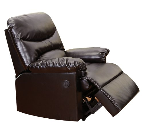 Acme 59063 Arcadia Bonded Leather Power Motion Recliner, Espresso Finish