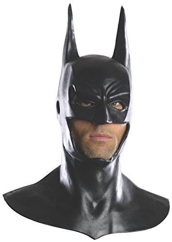 Rubie's Costume Men's Arkham City Deluxe Batman Cowl Mask, Black, One Size (Batman Bat Cowl compare prices)