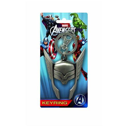 Marvel Thor Helmet Pewter Portachiavi
