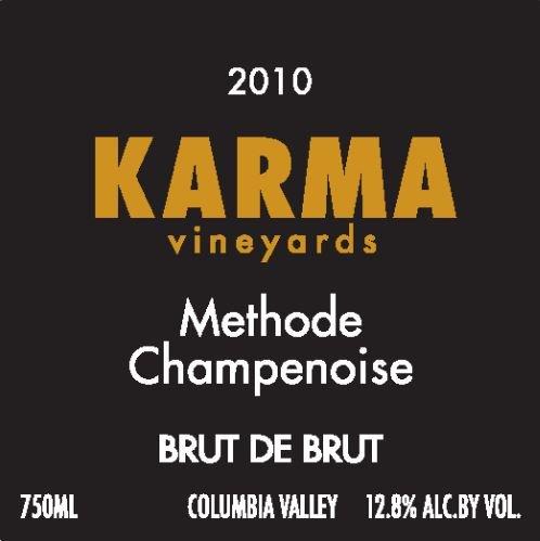 2009 Karma Vineyards Methode Champenoise Brut De Brut 750 Ml