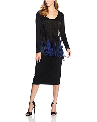 Rare London Kleid Fringe Ombre