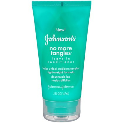 Johnson's No More Tangles Leavein Conditioner, 5 Ounce  by J