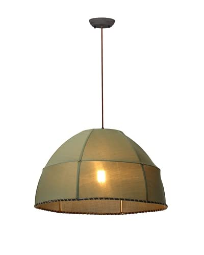 Zuo Marble Ceiling Lamp, Pea Green
