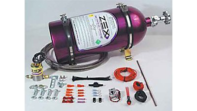 Nitrous Express 15605 Purge Valve Kit for GM 1-Piece MAF and 4.6 3V Plate Systems