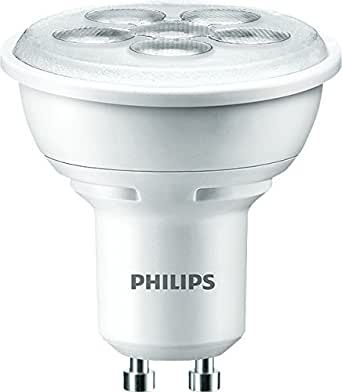 philips gu10 50 watt led spot bulb warm white lighting. Black Bedroom Furniture Sets. Home Design Ideas
