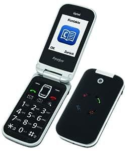 klappbar Dualband-Handy Ergophone 6020 GSM Schwarz