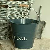 Garden Trading -Slate Coal Bucket