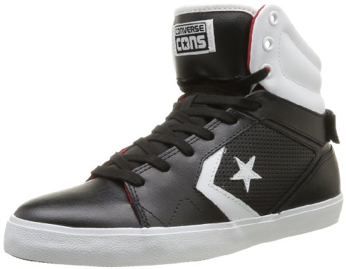 CONVERSE Unisex-Adult All Star 12 Pref Mid Trainers 363900-61-8 Noir 9.5 UK, 43 EU