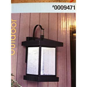 Click to read our review of Antique Outdoor Lights: Portfolio Outdoor LED Wall Lantern- Weathered Bronze