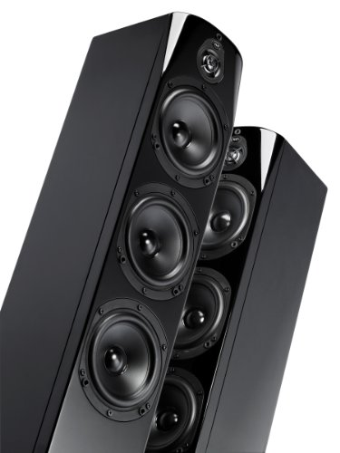 Nht Absolute Tower Speaker (Piano-Gloss Black, Single)