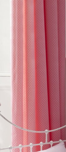 Catherine Lansfield Kids Flutterbye Curtains, Pink