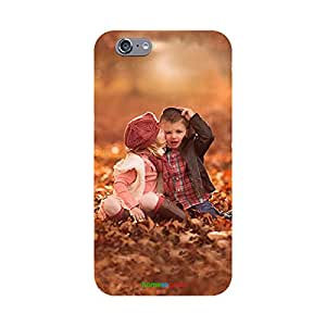 HomeSoGood Kiss From Sister Multicolor Case For iPhone 6 (Back Cover)