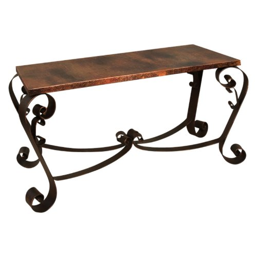 Cheap Artisan Mallorca Copper Console Table (IFD360SOFA)