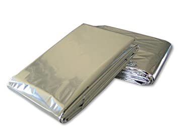Emergency Mylar Blanket  -   - Size 52 x 84 - Pack of 12
