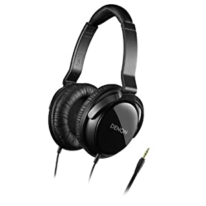 Denon AH-D310 Headphones (Black)