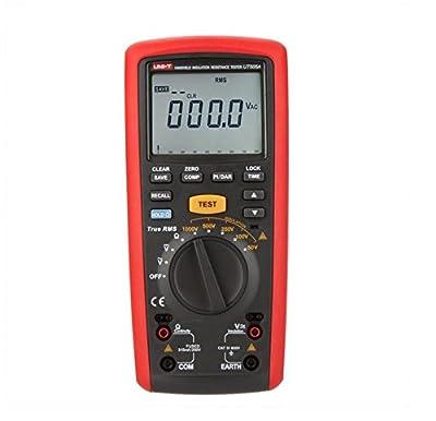 Smart Meter UNI-T UT505A 1000V Handheld True RMS Megger Insulation Resistance Tester Multimeter Ohm Voltmeter