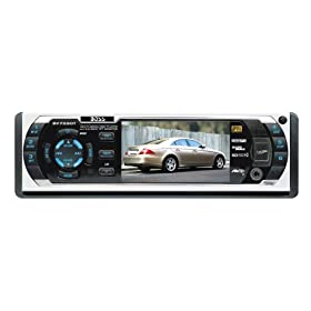 Boss BV7200 In-Dash DVD/MP3/CD Radio Receiver with 3.2-Inch TFT Widescreen Monitor