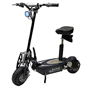 Super Turbo 800watt Elite 36v Electric Scooter &quot;Black&quot;