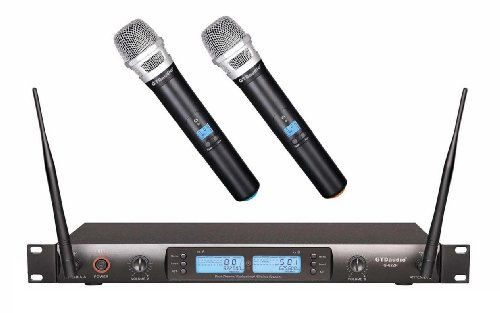 GTD Audio G 622H 200 Channel UHF Professional Wireless Microphone Mic System