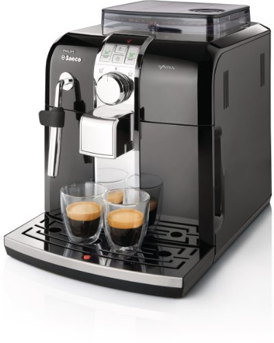 Best Review Of Philips Saeco HD8833/47 Syntia Automatic Espresso Machine, Black