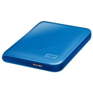 "Western Digital My Passport Essential 3.0 Disque dur externe portable 2,5"" USB 3.0 / USB 2.0 500 Go Bleu"