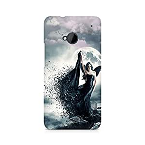 Mobicture Girl Abstract Premium Designer Mobile Back Case Cover For HTC One M7