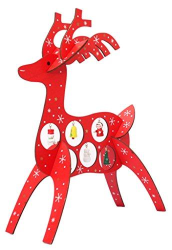 Lukis lustig weihnachtshirsch tischdekoration for Weihnachtshirsch deko