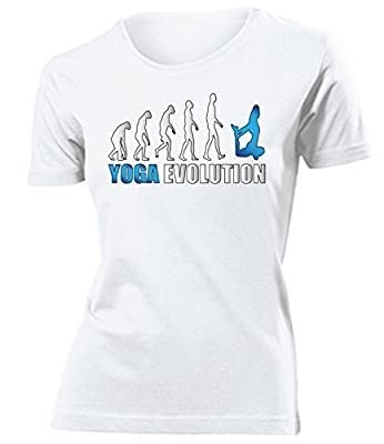Sport - YOGA EVOLUTION - Cooles Fun T-Shirt Damen S-XXL