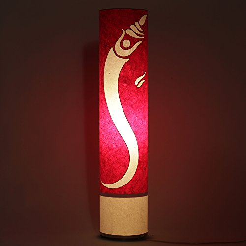 lord-ganesha-red-white-handmade-paper-bedroom-floor-lamp-living-dining-area-decorative-shade