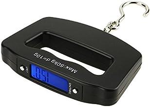 Linkcool 110lb50kg Electronic LCD Digital Hanging Luggage FishingPostal Weighing Hook Scale
