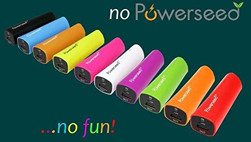 Powerseed Rainbow 2400mAh Power Bank