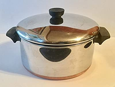 Revere: Vintage 4.5qt. Stock-pot & Lid, Copper Bottom