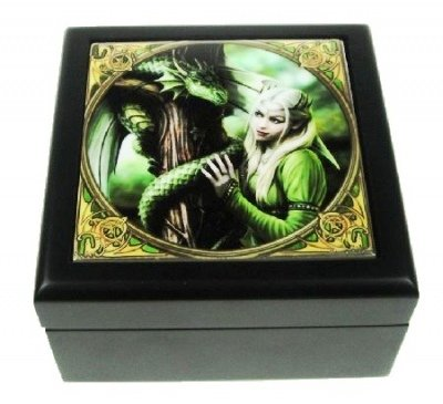 Art Tile Small, motivo: Anne Stokes, Kindred Spirits