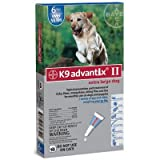 Advantix II K9 Blue - 6-Month Treatment for Extra Large Dogs Over 55 lbs -- 6 Tubes