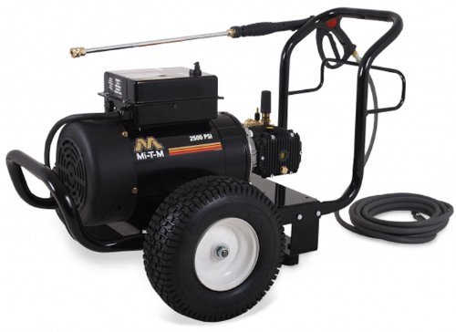 Mi-T-M Jp-2503-1Me1 Jp Series Cold Water Electric Direct Drive, 6.0 Hp Motor, 230V, 24.1A, 2500 Psi Pressure Washer