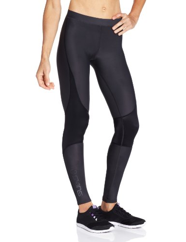 Skins RY400 Women's Recovery Compression Running Tights Black black Size:LA