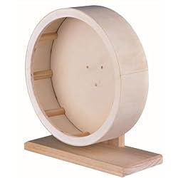 Holzlaufrad mit geschlossener Lauffläche, 28 cm