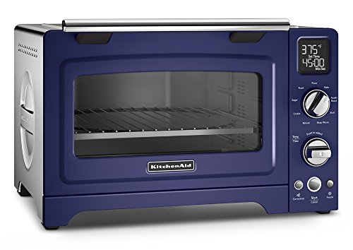 KitchenAid KCO275BU Convection 1800-watt Digital Countertop Oven, 12-Inch, Cobalt Blue (Cobalt Blue Toaster Oven compare prices)