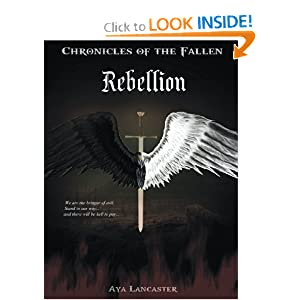 Novel Chronicles of The Fallen Rebellion Aya Lancaster Karya anak bangsa