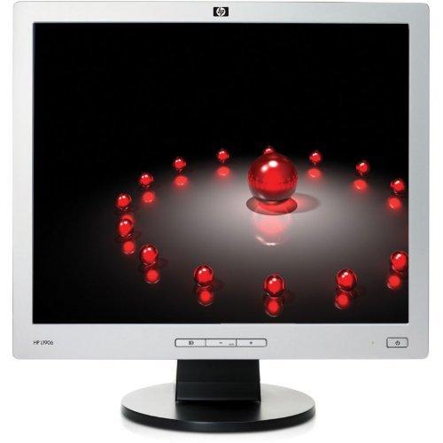"Hp L1906 Black - Silver 19"" Screen 1280 X 1024 Resolution Refurbished Lcd Flat Panel Monitor"